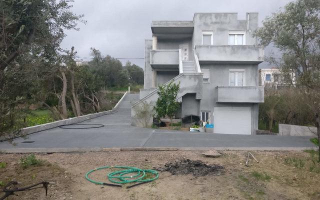 Ανέγερση Διώροφης Οικοδομής Με Υπόγειο & Διαμόρφωση Περιβάλλοντος Χώρου